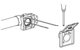 Centrální vysavače - elektrické zapojení zásuvky